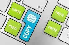 copiar y pegar