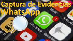 Captura evidencias WhatsApp